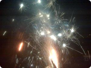 Campground Fireworks