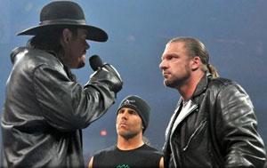 Undertaker, Shawn Michaels & HHH