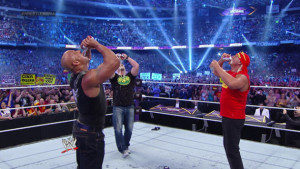 WrestleMania 30 Rock, Austin, Hogan