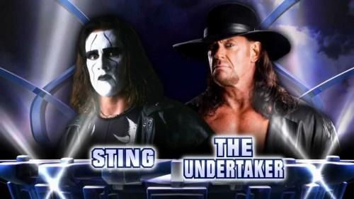 Sting Vs. The Undertaker