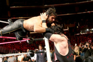 Hell In A Cell 2015 - Rollins v Kane