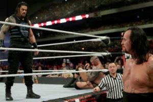 Royal Rumble 2017 Reigns Undertaker