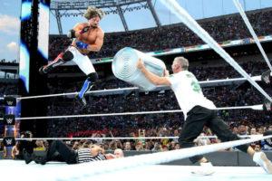 WrestleMania 33 - AJ vs Shane