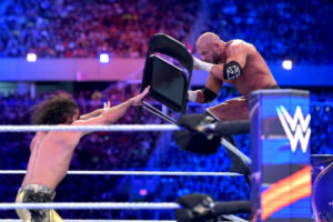 WrestleMania 33 - Rollins vs HHH