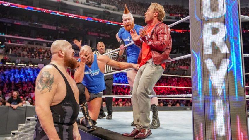 Survivor Series (2018) - AOP vs. The Bar