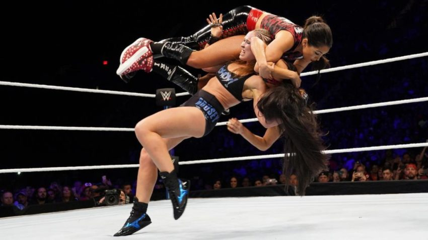 WWE Evolution (2018) - Ronda Rousey vs. Nikki Bella