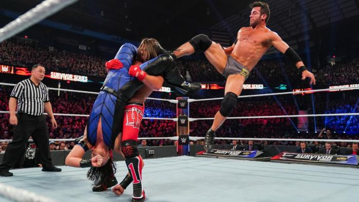 Roderick Strong, AJ Styles and Shinsuke Nakamura - Survivor Series 2019
