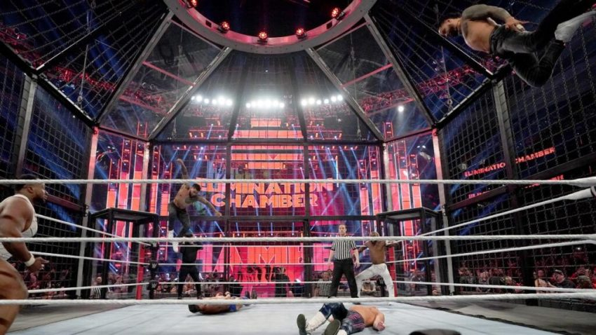 Elimination Chamber (2020) Tag Team Chamber Match