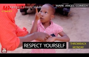 Respect Yourself (Mark Angel Comedy) (Throw Back Monday)