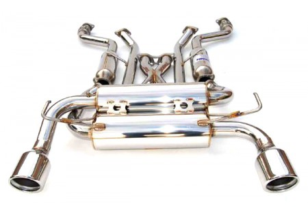 invidia gemini rolled ss tip exhaust infiniti g37 coupe