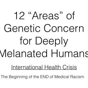 12 Areas of Concern for Melanated Humans.001