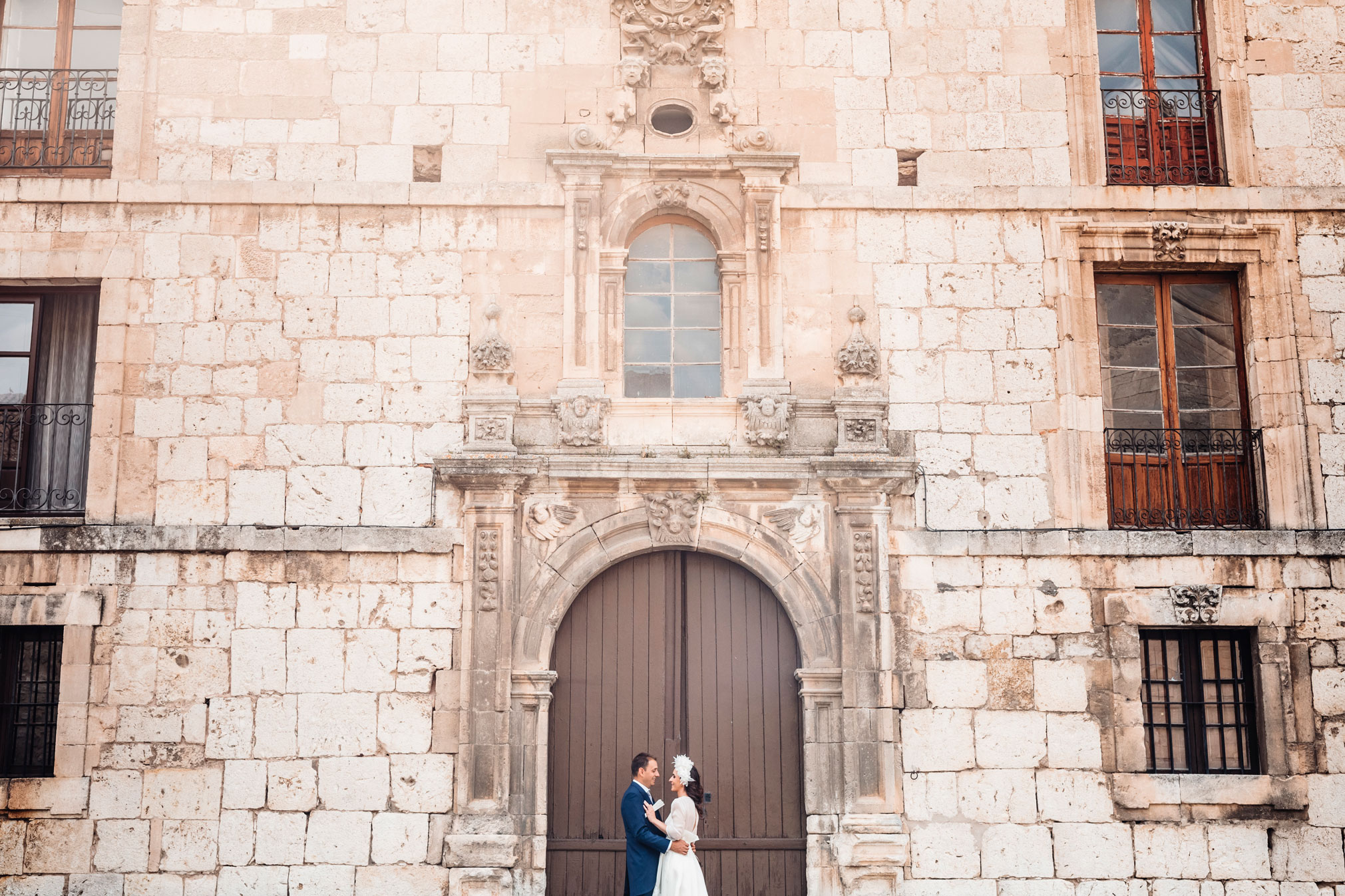 Fotógrafos de Boda Burgos en NH Collection Palacio de Burgos