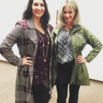 Stephanie and Melissa wearing CAbi
