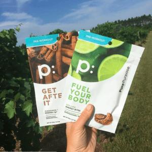 Pure Purpose Key Lime and Cinnamon Raisin Bites