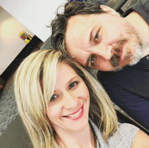 Melissa McNallan and Chris Peterson