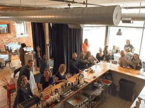 Collider Happy Hour at Bleu Duck Kitchen