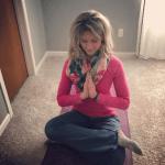 Melissa McNallan Doing Yoga at Home