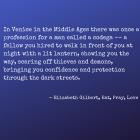 Elizabeth Gilbert, Eat, Pray, Love Chapter 32