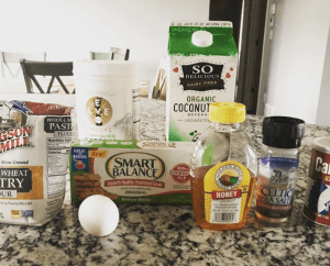 Dairy Free Pancake Ingredients