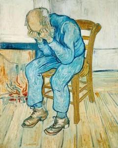 Viejo, de Van Gogh