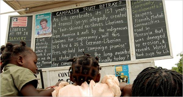 Daily Talk, el blog análogo de Alfred Sirleaf