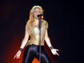 Shakira, víctima de su peor noche