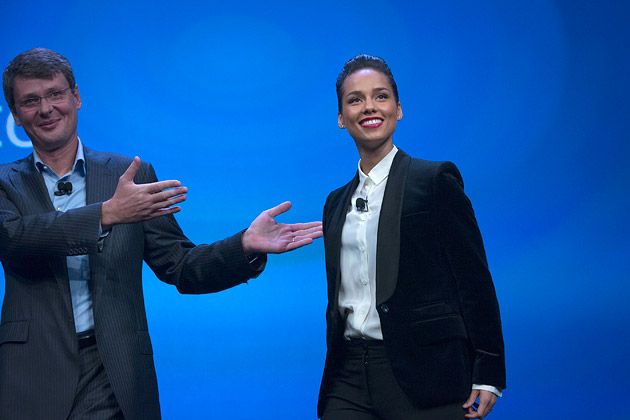 Alicia Keys, Directora Creativa Global de Blackberry