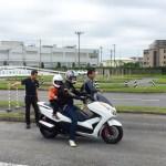TEST RIDE NOW! in 流山自動車学校」