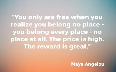 On belonging, staying true to who you are and the concept of freedom