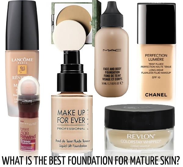 What is the best foundation for mature skin? Here are 11 recommended foundations!