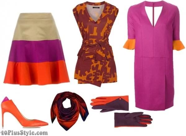Image Result For Burnt Orange Color Dress