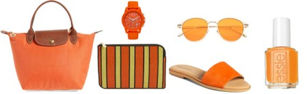 How to wear orange  7 color combinations to get you started this     Orange accessories  40plusstyle com