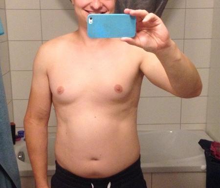 40 Tage ohne Zucker Vergleich - Vorher