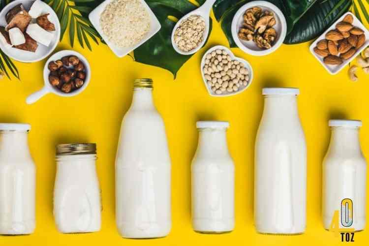 Milchersatz ohne Zucker