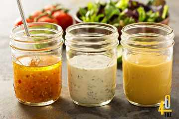 Salat Dressing ohne Zucker