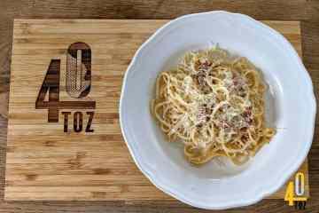 Rezept - Spaghetti Carbonara mit Speck