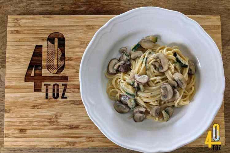 Rezept - Spaghetti mit Pilzsauce