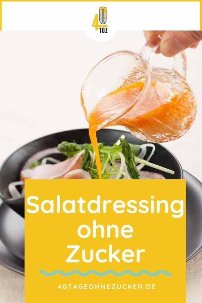 Salatdressing ohne Zucker im Supermarkt kaufen