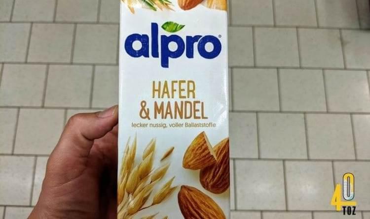 Hafer und Mandel von alpro