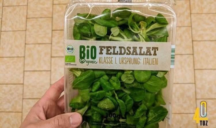Zuckergehalt von Feldsalat