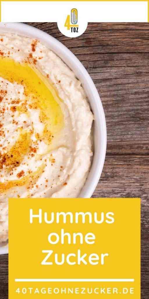 Hummus ohne Zucker kaufen