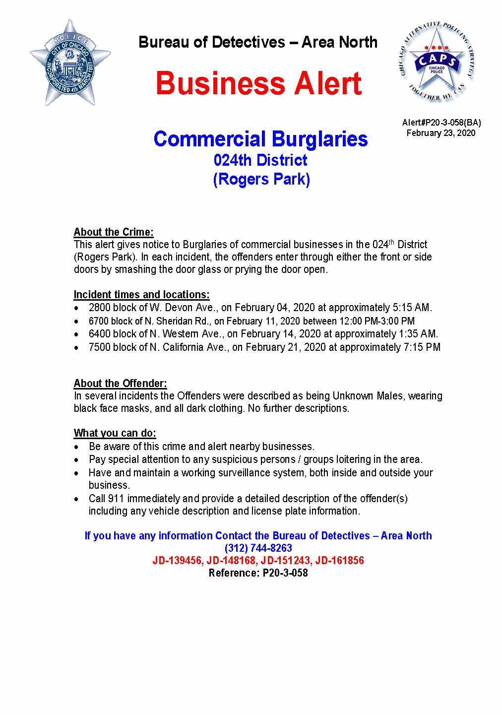 Business Alert P20-3-058(BA)