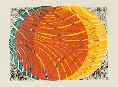 Untitled (Woodblock+Intaglio), Sean Conway