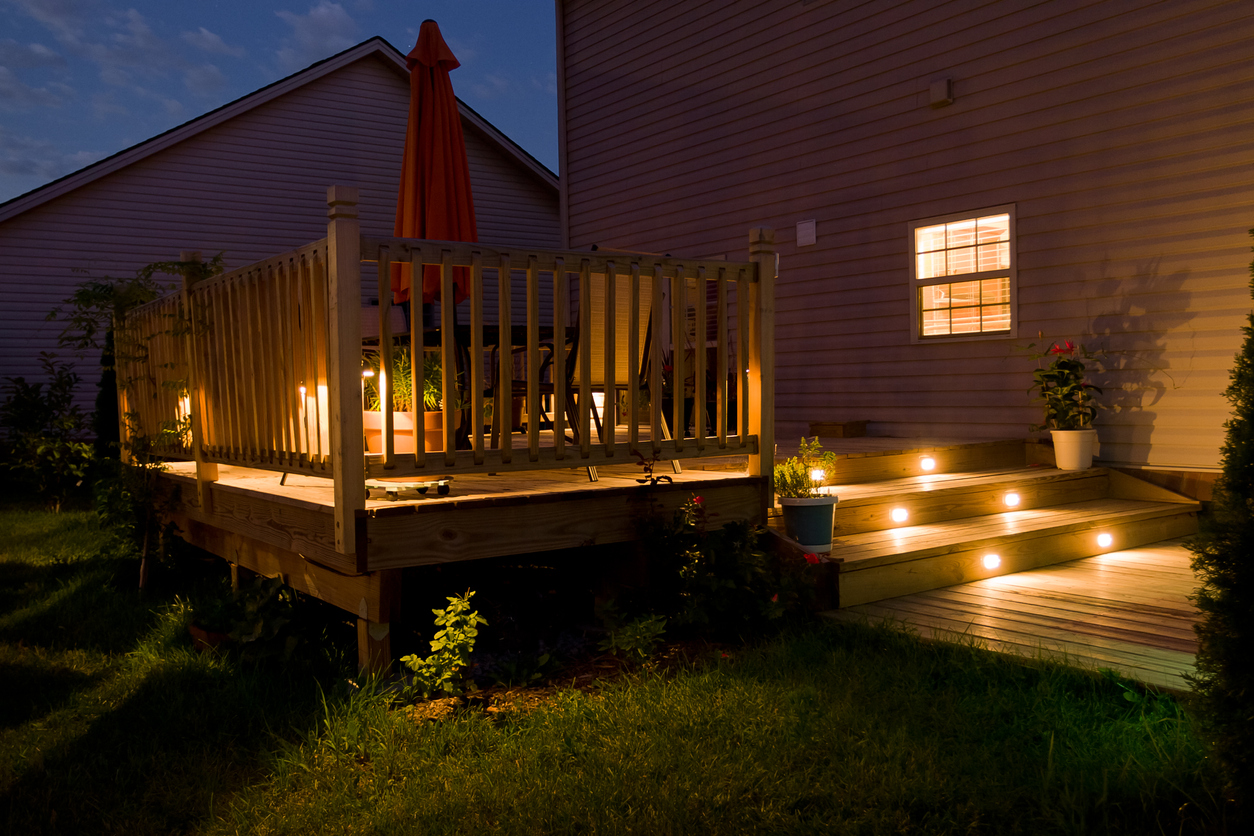 landscape lighting d c electric of raleigh electrical service