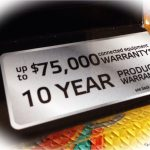 $75,000 Warranty