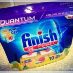 10 pack of Finish Quantum with Power Gel