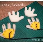 Hand inserts internals