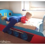 Finished big boy bed