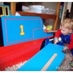 Assembling Thomas bed
