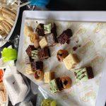 Sweet tray platter